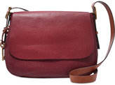 Fossil Harper Large Leather Saddle Crossbody