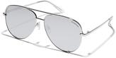 MinkPink Highlight Sunglasses Silver