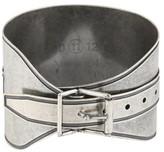 Mason Martin Margiela Silver Plated Adjustable Buckle Bracelet