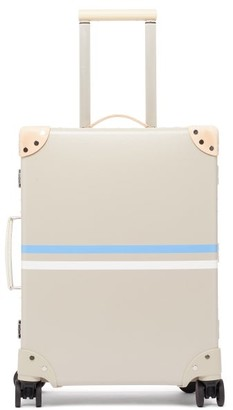 """Globe-trotter Albion Cotswolds 20"""" Carry-on Suitcase - Beige"""