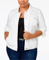 Style&Co. Style & Co. Plus Size Denim Jacket, Only at Macy's