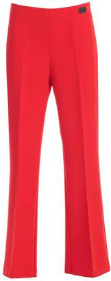 Blumarine Be Pants Flared Cady W/side Zip