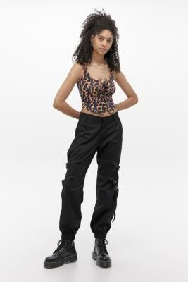 Motel Clive Trousers - Black S at Urban Outfitters