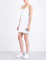 Monreal London Ladies Aquamarine Player Stretch-Jersey Dress