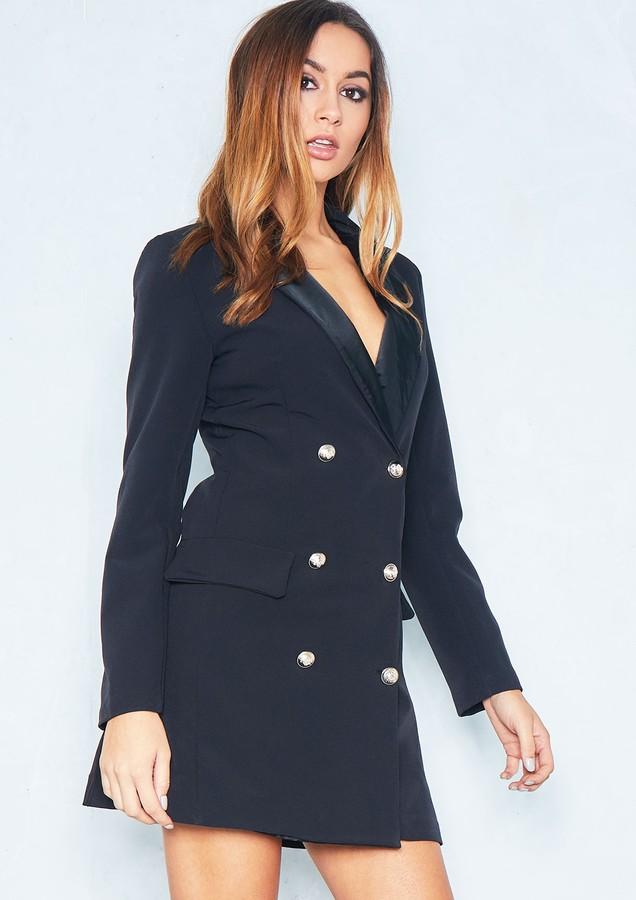 85b13b5bb90 Double Breasted Tuxedo Dress - ShopStyle UK