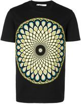 Givenchy Cuban-fit Optical print T-shirt - men - Cotton - XS