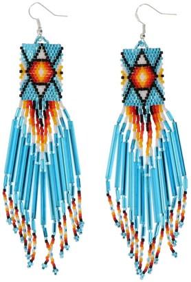 Jessie Western Beaded Earrings