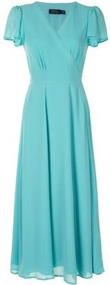 Polo Ralph Lauren Wrap-Style Midi Dress