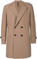Eleventy double-breasted coat - men - Acetate/Virgin Wool/Polybutylene Terephthalate (PBT) - 50