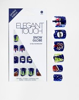 Elegant Touch Snow Globe Nails