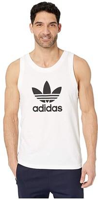 adidas Trefoil Tank Top (White) Men's Sleeveless