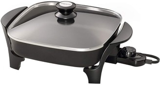 "Presto 11"" Electric Skillet with Glass Lid"
