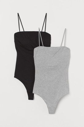H&M 2-pack Cotton-blend Bodysuits