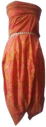 Comme des Garcons Multicolour Wool Dresses