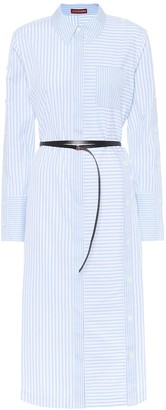 Altuzarra Aster cotton midi shirt dress
