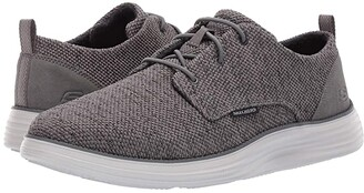 Skechers Status 2.0 - Menic (Grey) Men's Lace up casual Shoes