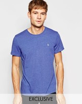 Jack Wills T-Shirt With Pheasant Logo In Blue Marl Exclusive