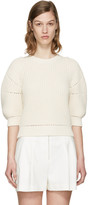 3.1 Phillip Lim Ecru Cotton Sweater