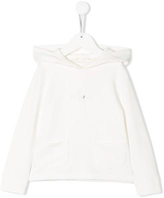 Lapin House pocket-detail hoodie
