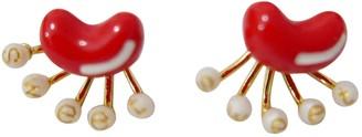 Les Nereides Gold Metal Earrings