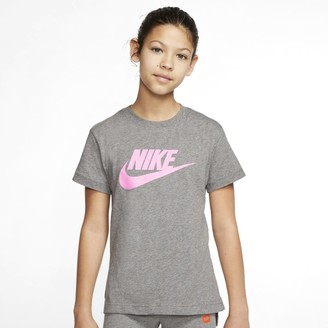 Nike Girls 7-16 Crewneck Graphic Tee