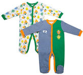 Baby Gear Two-Piece Cool Dude Footie Set