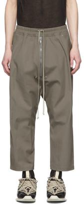 Rick Owens Grey Bela Trousers
