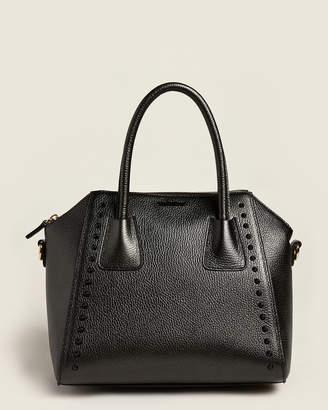 Mario Valentino Valentino By Black Minimi Preciosa Leather Satchel