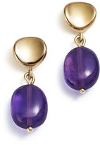 Bloomingdale's Amethyst Drop Earrings in 14K Yellow Gold - 100% Exclusive
