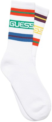 Guess X J Balvin Striped Cotton Blend Socks