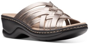 Clarks Collection Women's Lexi Selina Flat Sandals Women's Shoes