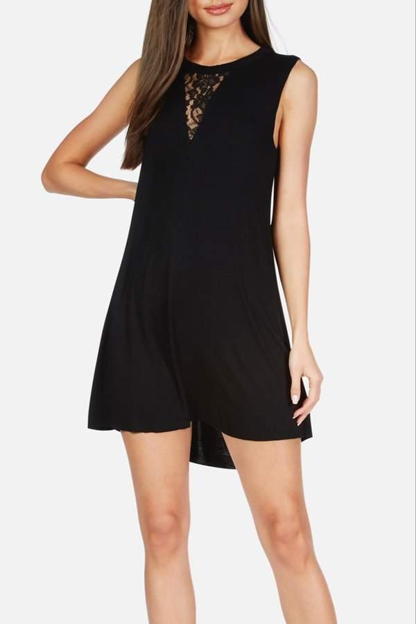 Sheer Insert Dress Shopstyle