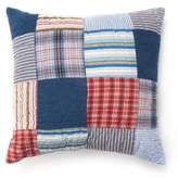 Amity Home Hampton Square Throw Pillow in Blue/Red