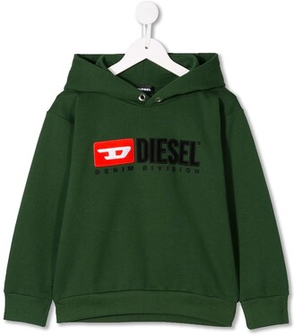 Diesel Hooded Logo Sweatshirt