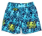 Hatley Infant Boy's Deep Sea Octopus Swim Trunks