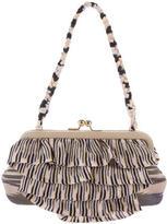 Missoni Rib Knit Frame Handle Bag