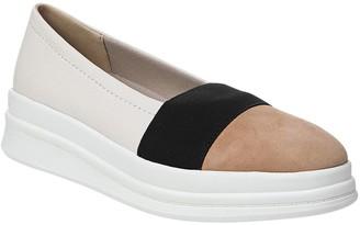Naturalizer Sporty Leather Platform Slip-On Shoes - Yuri