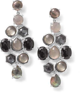 Ippolita 925 Rock Candy Cascade Earrings in Black Tie