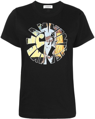 Lanvin Jeanne Hippie printed T-shirt