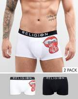 Religion 2 Pack Trunks With Kiss