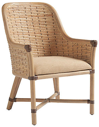 Tommy Bahama Keeling Woven Armchair - Natural