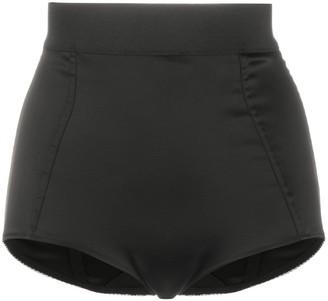 Wandering High-Waisted Brief Shorts