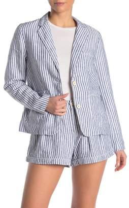 Faherty BRAND Sagaponack Striped Linen Blazer