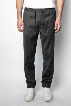 Zadig & Voltaire Perou Stripes Pants