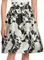 Eliza J Floral A-Line Skirt