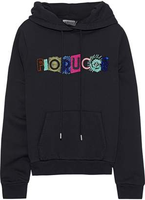 Fiorucci Embellished French Cotton-terry Hoodie