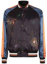 Valentino Firework Print Bomber Jacket