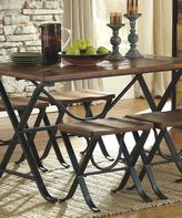 Signature Design by Ashley Medium Brown Freimore Five-Piece Table Set