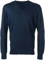 Fay Wool V Neck Sweater