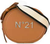No.21 logo plated cross-body bag - women - Leather - One Size